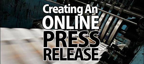 Creating An Online Press Release